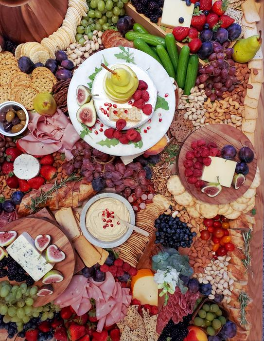 Olive and Fig Grazing Table and Charcuterie