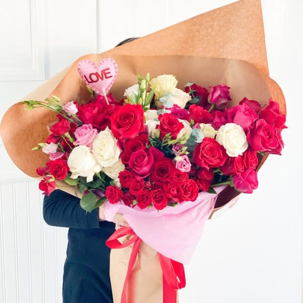 Huge Bouquet Fresh Flower Delivery Toronto